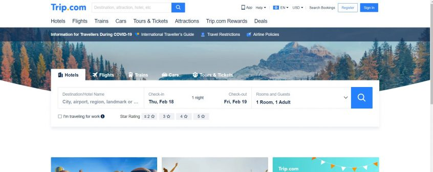 Trip.com flights & hotels - How to use your Trip.com coupon codes, Trip.com promo codes, Trip.com voucher codes & Trip.com discount codes