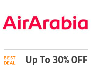 Air Arabia Deal: Attractive discount deals with Air Arabia save up to 30%! Off