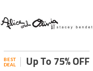 Alice And Olivia Coupon Code & Offers