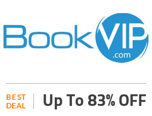 BookVIP Coupon Code & Offers