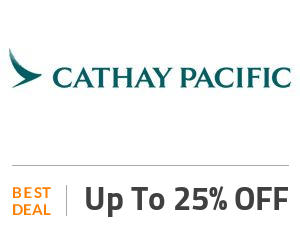 Cathay Pacific Coupon Code & Offers