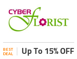 Cyber Florist Coupon Code & Offers