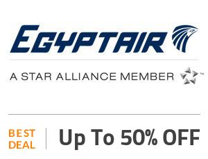 EgyptAir Coupon Code & Offers