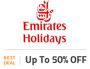 Emirates Holidays Deal: Get 50% Discount On Contracted Hotel Rates - Ja Manafaru Offer Off