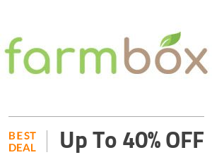 FarmBox Coupon Code & Offers