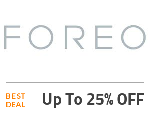 Foreo Deal: Foreo Online Sale - Up to 25% OFF! Off