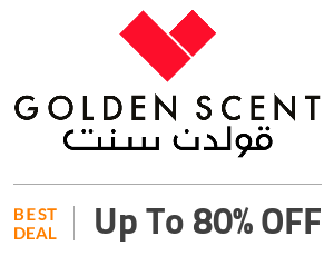 Golden Scent Deal: Up to 80% OFF Wide Range Of Perfumes Off