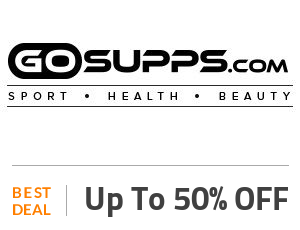 GoSupps Coupon Code & Offers