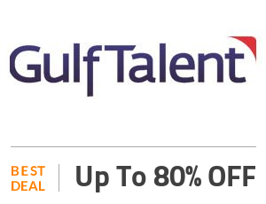 Gulftalent Coupon Code & Offers