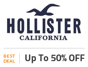 Hollister Coupon Code & Offers