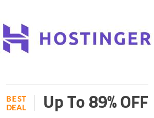 Hostinger Coupon Code & Offers