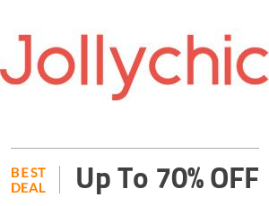 Jollychic Deal: Up to 70% OFF On Clothing, Footwear & Accessories Off