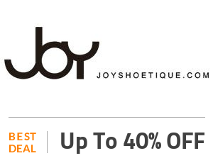 Joyshoetique Coupon Code & Offers