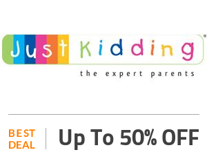 Just Kidding Coupon Code & Offers