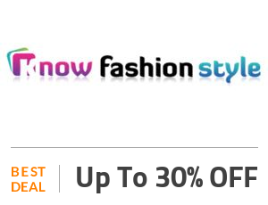 Knowfashionstyle Deal: Get Up to 30% OFF New Arrivals Off