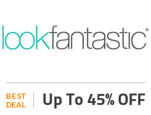 Look Fantastic Deal: Save Up to 45% Off : Best Sellers Beauty Products Off