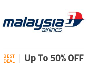 Malaysia Airlines Deal: 50% OFF On Domestic Flight Ticket Fares Off