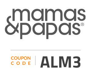 Mamas & Papas Coupon Code: ALM3