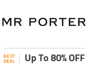 Mr Porter Coupon Code & Offers