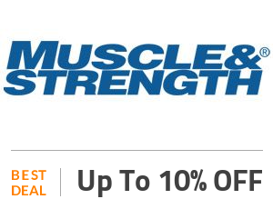 MuscleAndStrength Coupon Code & Offers