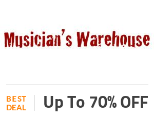 Musicians Warehouse Coupon Code & Offers
