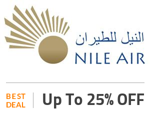 Nile Air Coupon Code & Offers