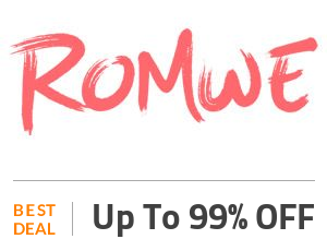 Romwe Coupon Code & Offers