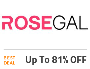 Rosegal Coupon Code & Offers
