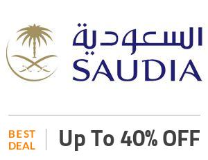 Saudia Coupon Code & Offers