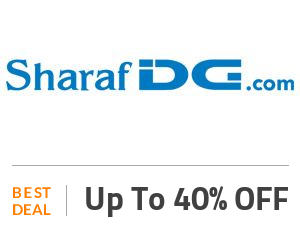 SharafDG Coupon Code & Offers