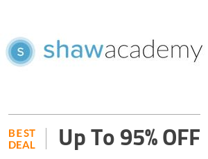 Shaw Academy Coupon Code & Offers