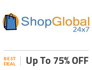 Shop Global 24×7 Deal: Clearance Sale: Up to 75% Discount On Sitewide Products Off