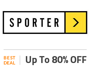 Sporter Coupon Code & Offers