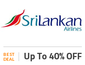 SriLankan Airlines Coupon Code & Offers