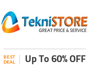 Teknistore Coupon Code & Offers