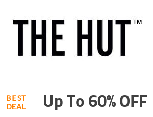 The Hut Coupon Code & Offers