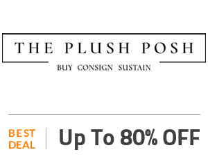 The Plush Posh Coupon Code & Offers