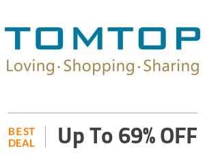 Tomtop Coupon Code & Offers