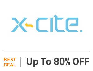 X-cite Deal: Xcite Mega Sale: Up to 80% OFF Selected Products Off
