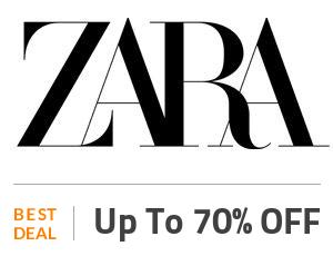 Zara Deal: Enjoy 70% OFF Women Zara Collection Off