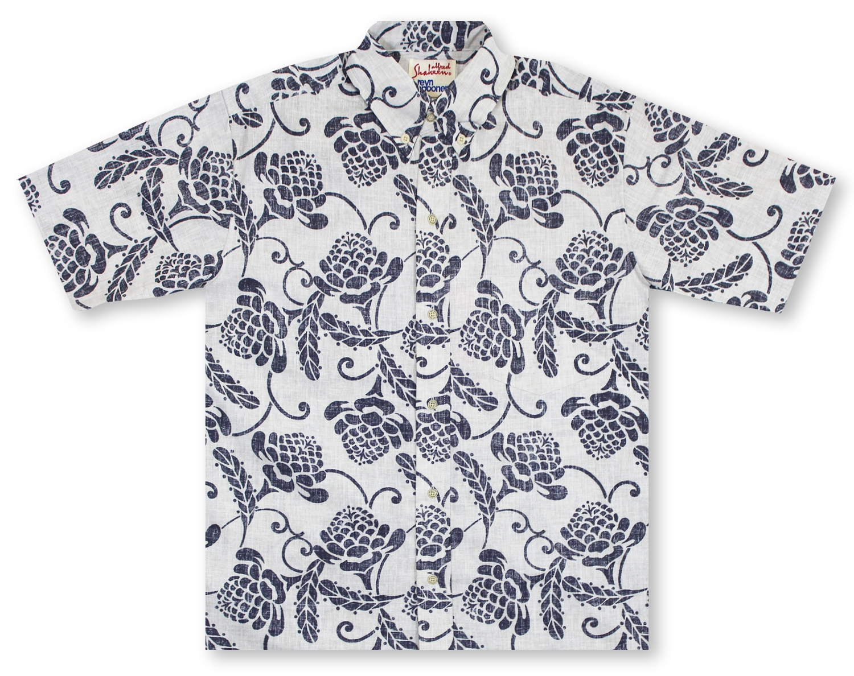 852130388 Hawaiian Shirts From Aloha Shirt Shop | Reyn Spooner Awapuhi Ko'o ...