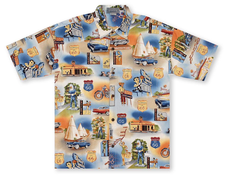e3dcc668e Hawaiian Shirts From Aloha Shirt Shop | High Seas Route 66 Mother ...