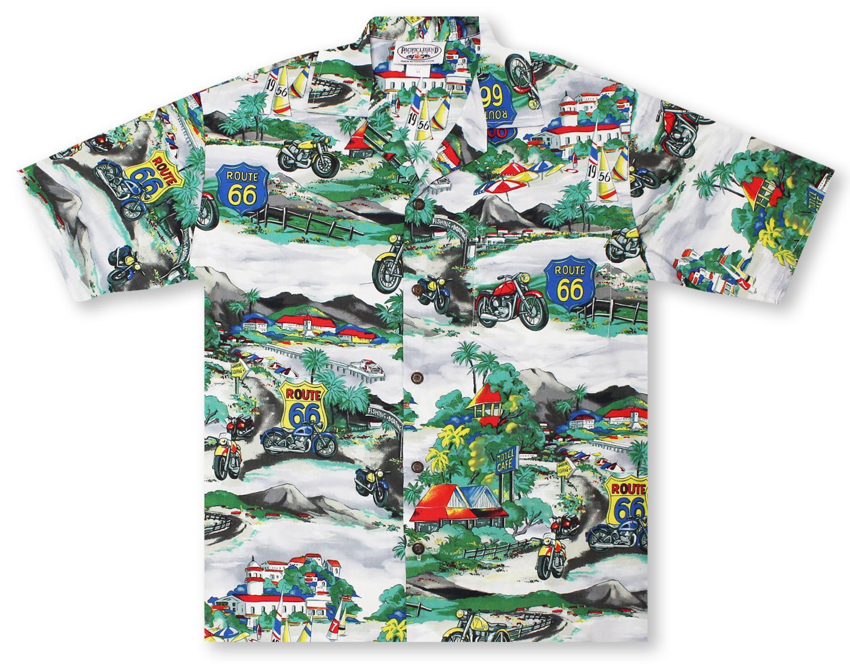 d053fa128 Hawaiian Shirts From Aloha Shirt Shop | Pacific Legend Route 66 ...