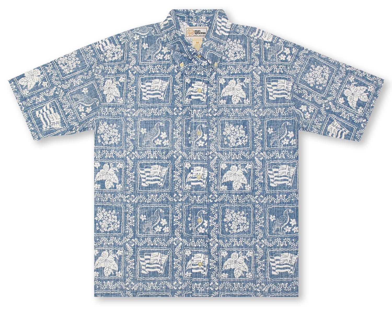 b6600c878 Hawaiian Shirts From Aloha Shirt Shop | Reyn Spooner Lahaina Sailor ...