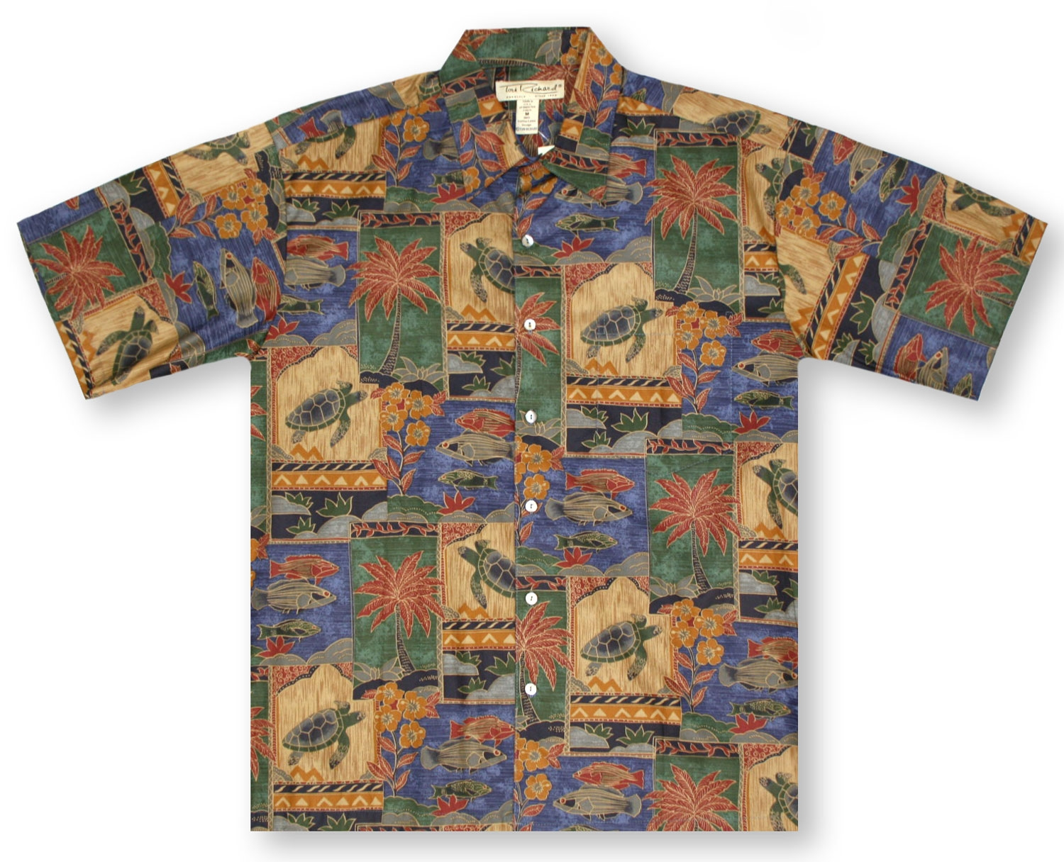 sale tori richard big and tall marquises hawaiian shirt