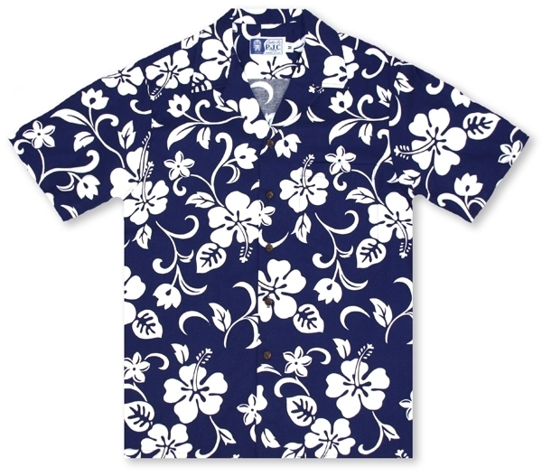 d67c3101d Hawaiian Shirts From Aloha Shirt Shop | RJC Boys Hibiscus Blue | RC-06K
