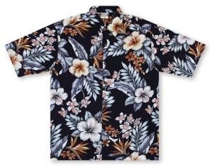Go Barefoot In Paradise Big And Tall Manoa* Hawaiian Shirt