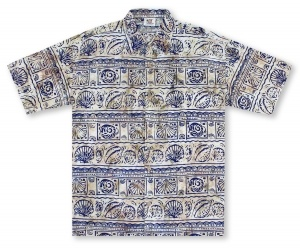 Rum Reggae Shell Collection Hawaiian Shirt