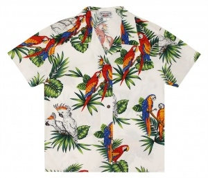Pacific Legend Ladies Birds Of The Jungle Hawaiian Shirt
