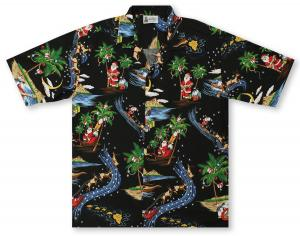 Aloha Republic Starry Night Hawaiian Shirt
